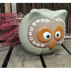 Ugle, Støvgrøn keramik