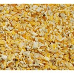Knækket majs