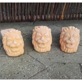 Løvefødder - krukkefødder i terracotta(*)