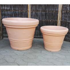 Plastkrukke med terracotta-look