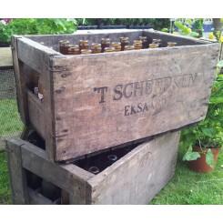 Gamle Belgiske Ølkasser