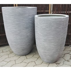 Savannah, Grey Wash polystone Krukke*