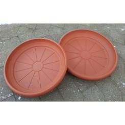 """Plastunderfad """"Terracotta""""-XL"""