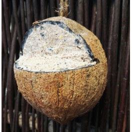 Kokosnød m. fedt - 380 gr.
