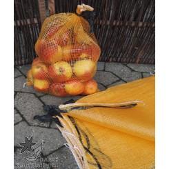 Netsække gul 2,5 kg.