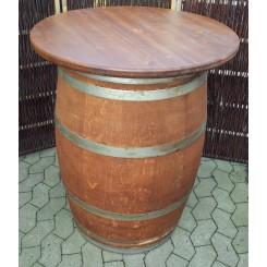 Ståbord af vintønde, bordplade ø78 cm