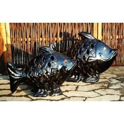 Sort højglans fisk*