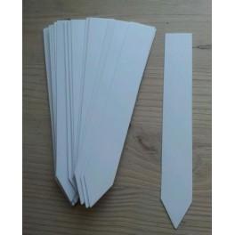 Stiketiketter, hvide - 50 stk.