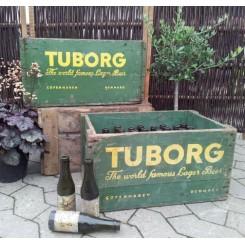 Gamle Tuborg Exportkasser